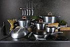 Набор кухонных принадлежностей с подставкой Berlinger Haus Moonlight Edition 7 пр. (BH-6242), фото 3