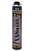 Пена монтажная профессиональная VASmann firestop, огнестойкая, 920 г,