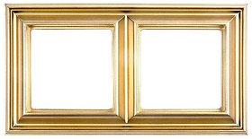 Рамка Eco Profi DECO 2-местная (золото)