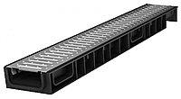 Лоток Ecoteck STANDART light 100.65 h69 с решеткой стальной, кл.А15/