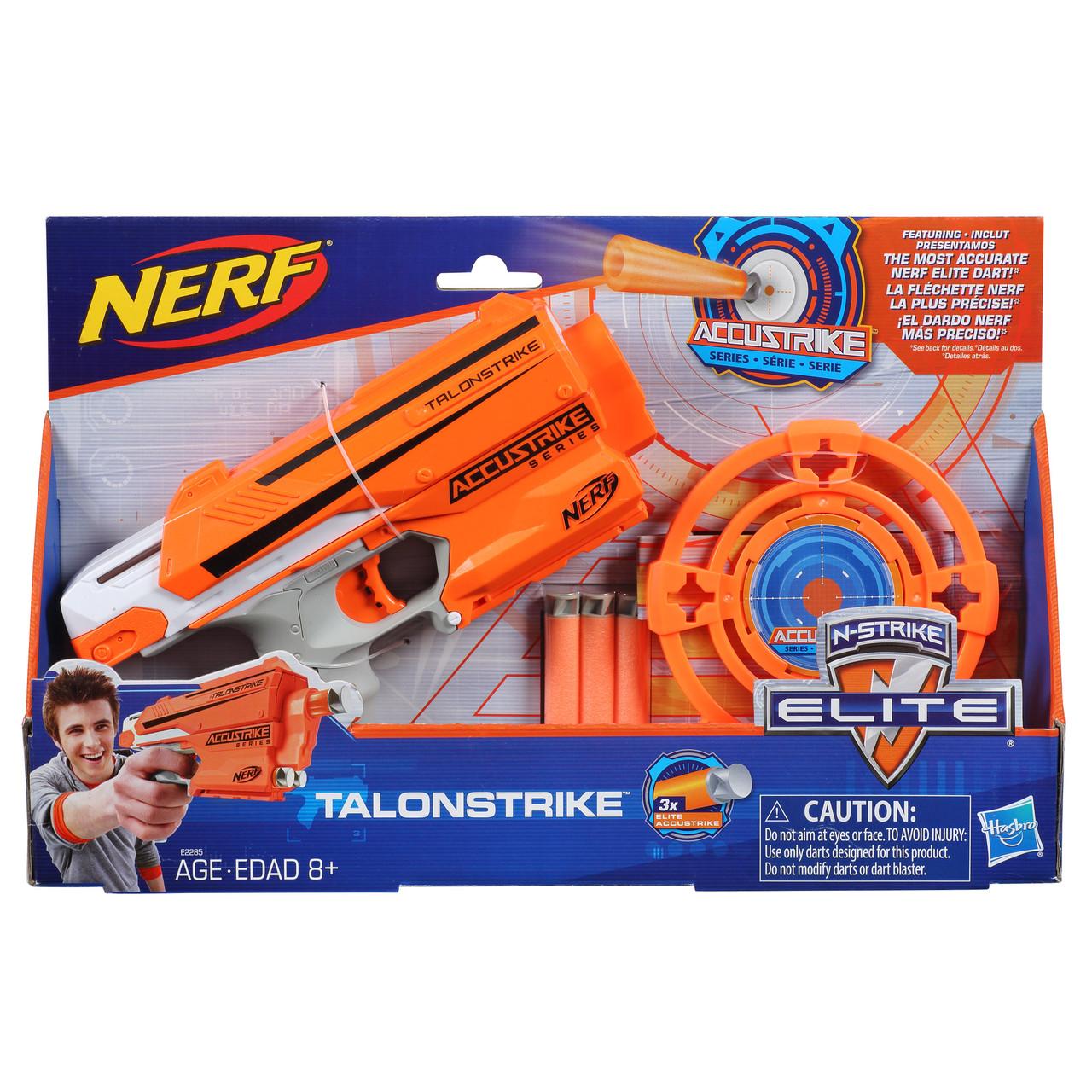 "Hasbro Nerf AccuStrike Бластер Пистолет ""Талонстрайк"" (Talonstrike)"