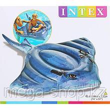 """Надувной плот """"Скат"""" 188 x 145 cм Intex 57550"""