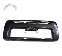 Накладка переднего бампера на LC100 1998-2007 Черный металлик, фото 1
