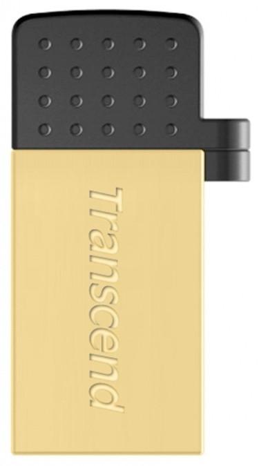 USB Флеш 32GB 2.0 Transcend OTG TS32GJF380G золото