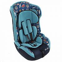 Детское автокресло Bambola Primo Путешествие 9-36 кг Темно-синий/Бирюзовый, фото 1