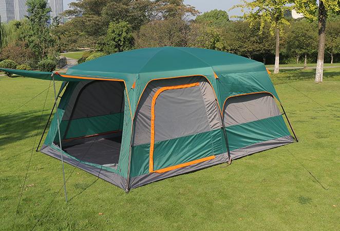Палатка-шатер с тентом и шатром Hanlu HL-8886 (4,3х3,05х2 м)