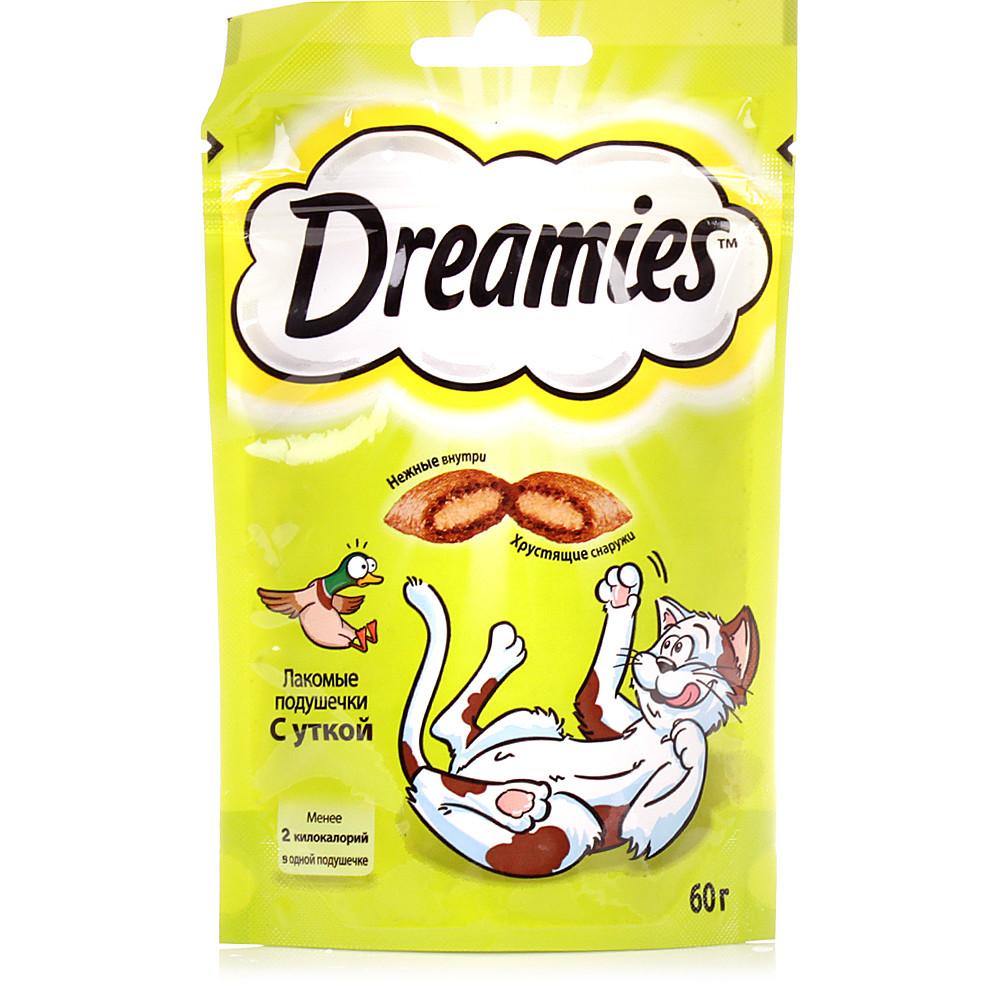 "Dreamies ""Лакомые подушечки"" для кошек Утка"
