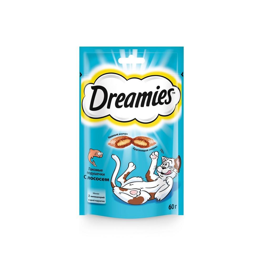 """Dreamies """"Лакомые подушечки"""" для кошек Лосось"""