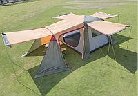 Палатка-шатер с тентом и коридором Hanlu HL-8885-3 (3х3х2 м)