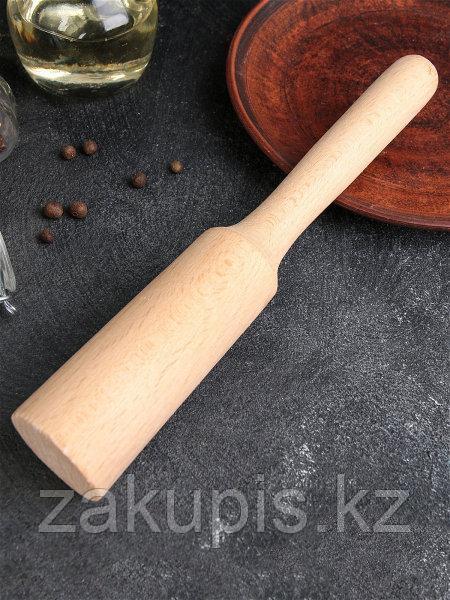 Толкушка деревянная бук 27*4,45*45 см