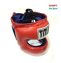 Боксерский шлем с бампером TITLE (защита челюсти), фото 3