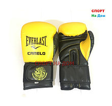 Боксерские перчатки Everlast Canelo (кожа) 12,14 OZ, фото 3