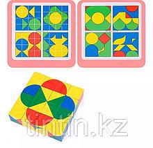 Настольная игра-головоломка — Пиксельные кубик, Pixy cubes block, фото 2