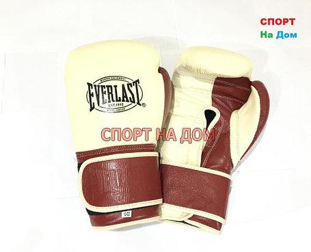 Перчатки боксерские Everlast Classic (кожа) 12,14 OZ, фото 2