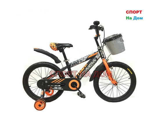 Детский велосипед Phoenix на 5-6 лет с холостым ходом рама 18, фото 2