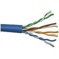 LANMASTER Кабель информационный Lanmaster LAN-5EUTP-BL кат.5е U/UTP не экранированный кабель витая пара