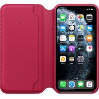 Apple iPhone 11 Pro Max Leather Folio - Raspberry аксессуары для смартфона (MY1N2ZM/A)