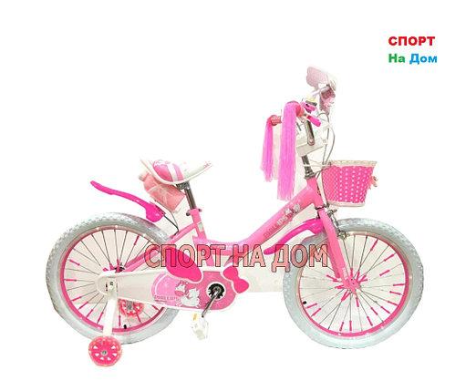 """Велосипед Phillips на 6-7 лет для девочек """"Принцесса+"""" рама 20, фото 2"""