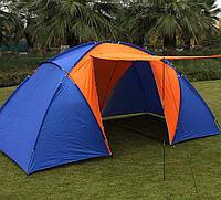 Палатка 4-х местная Hanlu (150+130+150)