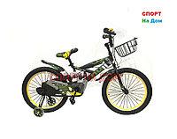 Детский велосипед Phillips на 6-7 лет с холостым ходом рама 20