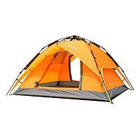 Палатка 3-х местная Hanlu HL-8879-7 (2*2*1,35 м., 210Т, 3000 мм., автомат, двуслойная)