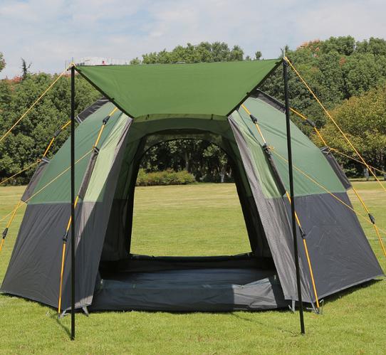 Палатка 6-ти местная Hanlu HL-8206-6 (2,8х2,8х1,65 м)