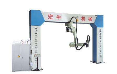 3D лазерный режущий 6-осевой робот HN-RJ500