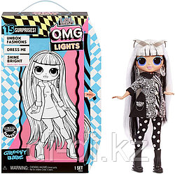 Кукла MGA Entertainment LOL Surprise OMG Lights Serie Groovy Babe