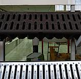 Поверхностный водоотвод. Канал с оцинкованной решеткой 125х80х1000мм Steelot тел. Whats Upp. 87075705151, фото 2