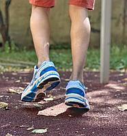 Кроссовки Asics бело голубые A1077-1, фото 1