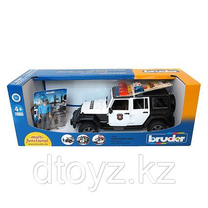 Внедорожник Bruder Jeep Wrangler Unlimited Rubicon Полиция с фигуркой