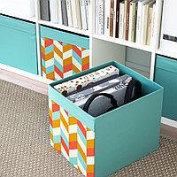 ДРЁНА Коробка, разноцветный, фото 1