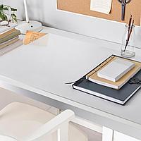 СКВАЛЛЬРА Подкладка на стол, белый, прозрачный, белый