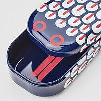 ИЛЛБАТТИНГ Футляр для ручек, разноцветный, змея металлический, синий, красный, белый, разноцветный, фото 1