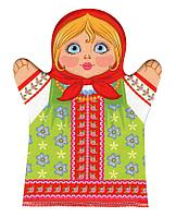 Домашний кукольный театр. Кукла перчатка «Внучка»