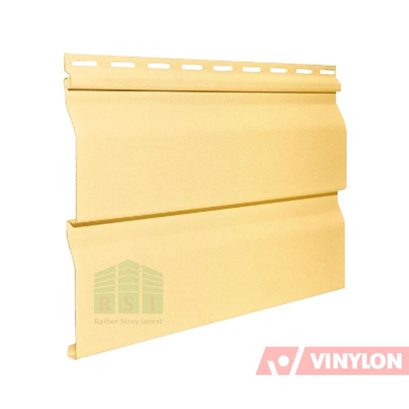 Сайдинг панель Vinylon Logistic D4D (кремовый)