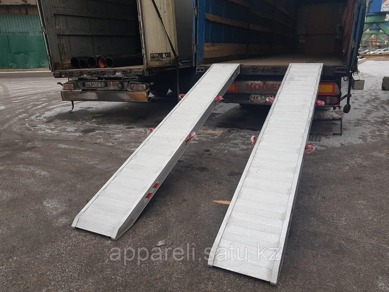 Аппарели, грузоподъёмность 7,5 тонн без бортов