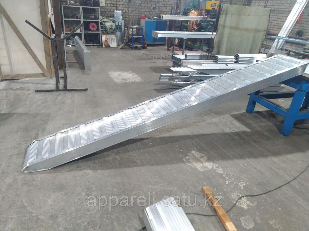 Аппарели, грузоподъёмность 7,5 тонн плоское покрытие
