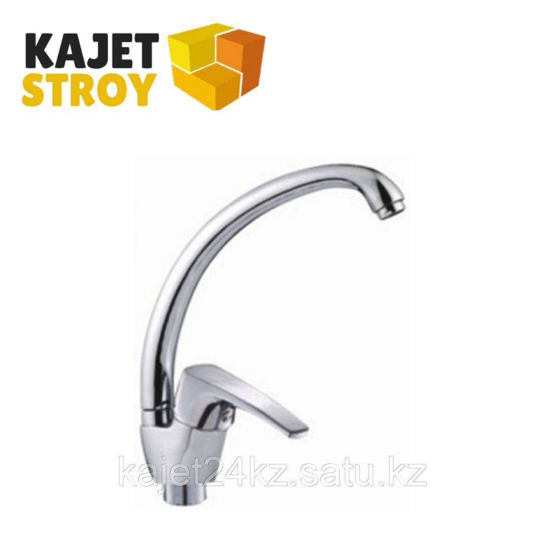 Смеситель KOLAG 1246 одноручный для кухни с высоким поворотным изливом (12)