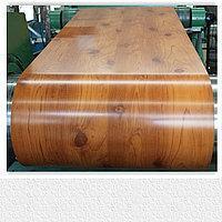Плоский лист с полимерным покрытием  (ширина 1,25 м) Premium