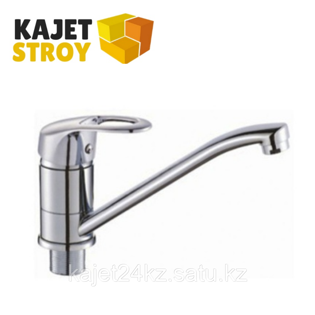 Смеситель KOLAG 1328 одноручный для кухни с поворотным изливом (18)