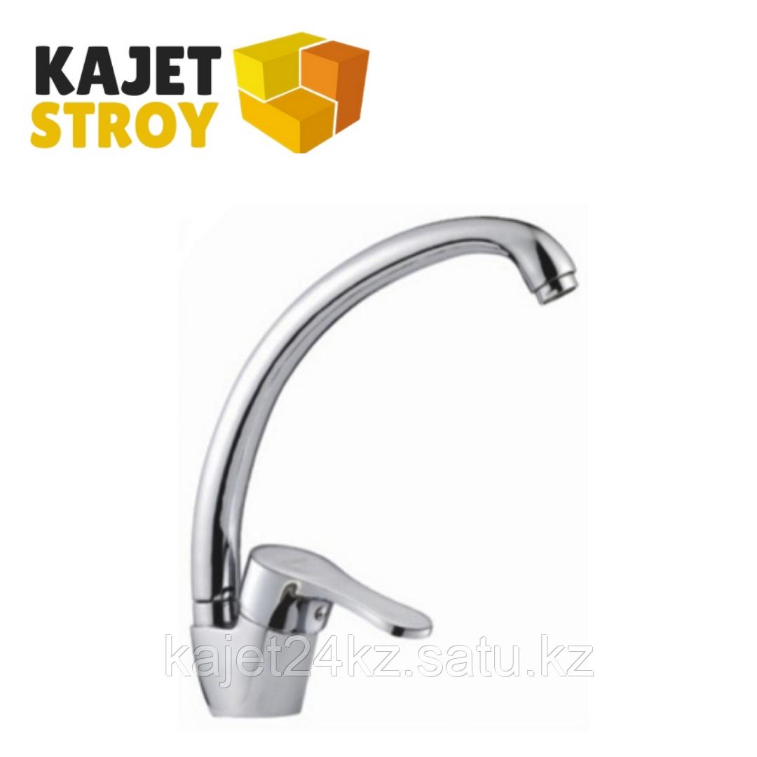 Смеситель KOLAG 1636 одноручный для кухни с высоким поворотным изливом (12)