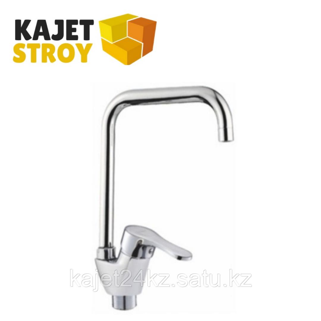 Смеситель KOLAG 1676 одноручный для кухни с высоким поворотным изливом (12)