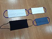 Многоразовые трикотажные маски