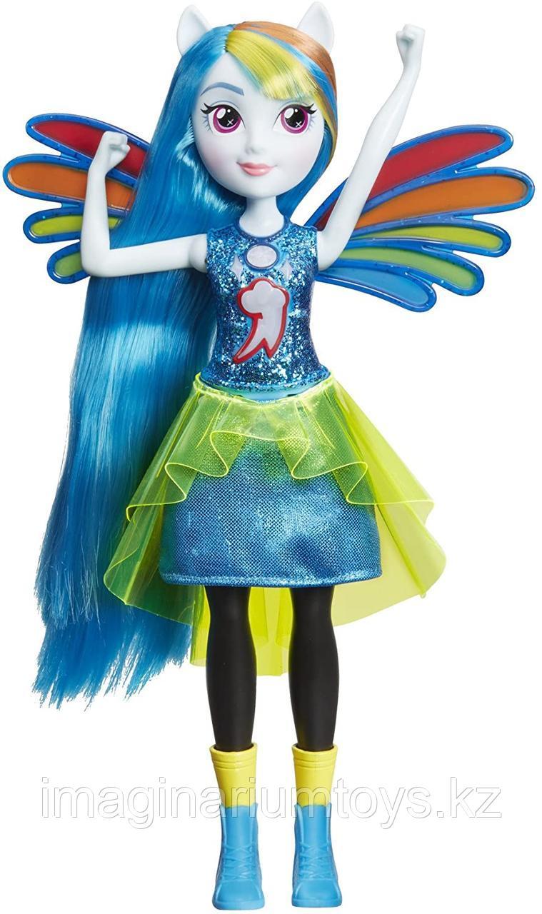 Кукла Пони поющая Радуга Девочки Эквестрии My Little Pony
