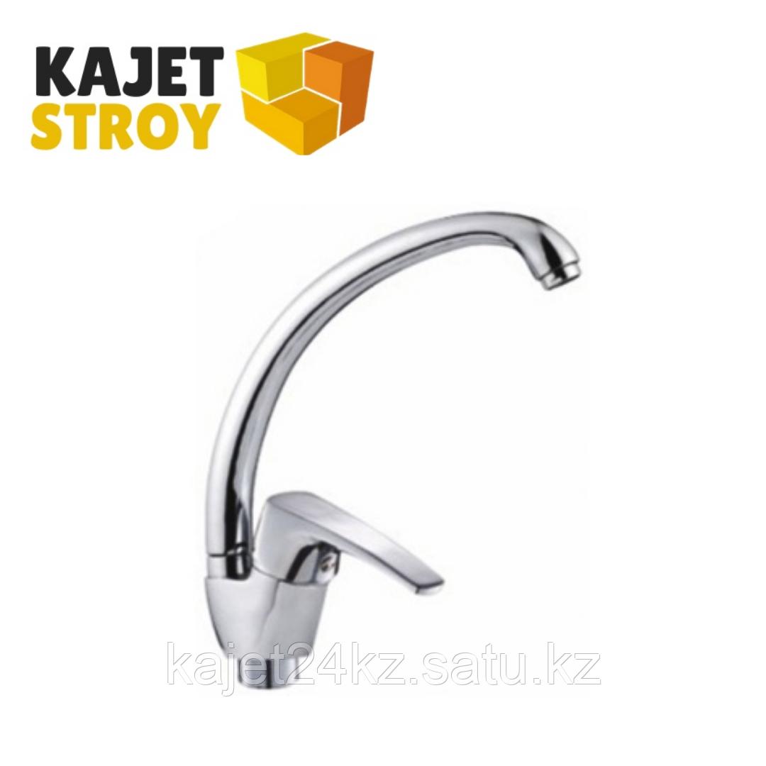 Смеситель KOLAG 446 одноручный для кухни с высоким поворотным изливом (12)