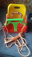 Детские подвесные качели из прочного пластика
