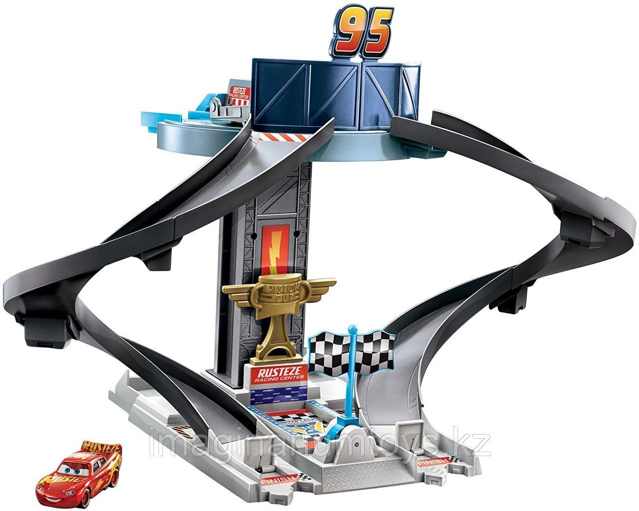 Тачки 3 автотрек «Гоночная башня» Cars Rust-Eze Racing Tower
