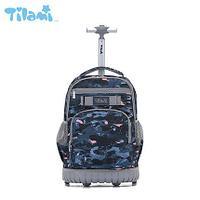 Школьный рюкзак на колесах Tilami Camouflage( Камуфляж)
