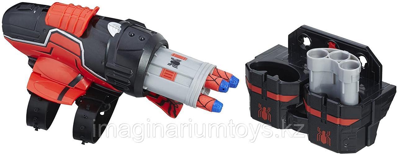 Игровой набор Бластер Человека-паука с патронами Nerf